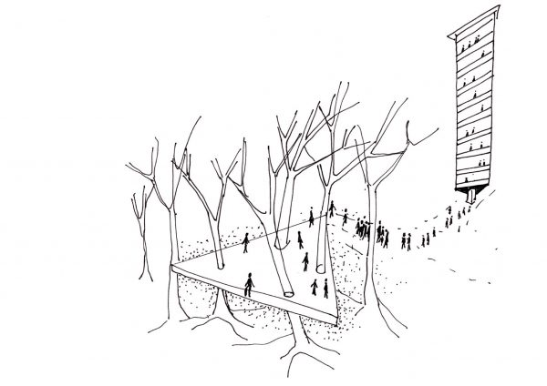 The Commons_Platform forest tower_Ooze