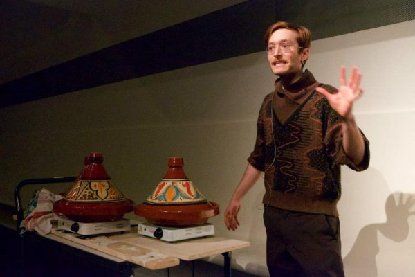 David Bernstein_Tagine in the Teijin Auditorium.2015_ Storytelling Performance at Stedelijk Museum, Amsterdam